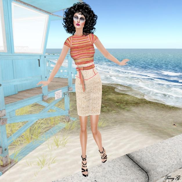 Prism Marilyn in Herringbone Bamboo by Journey 2